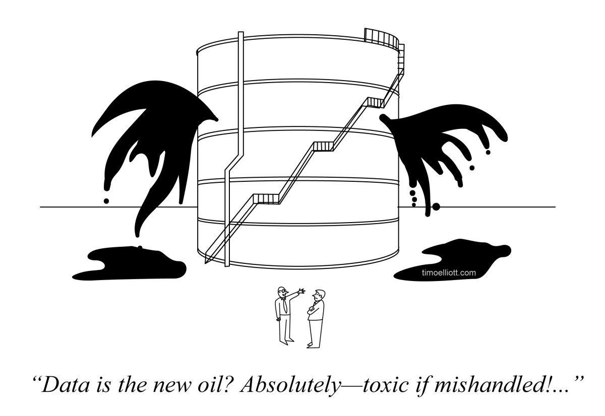 Data Is the New Oil via @timoelliott