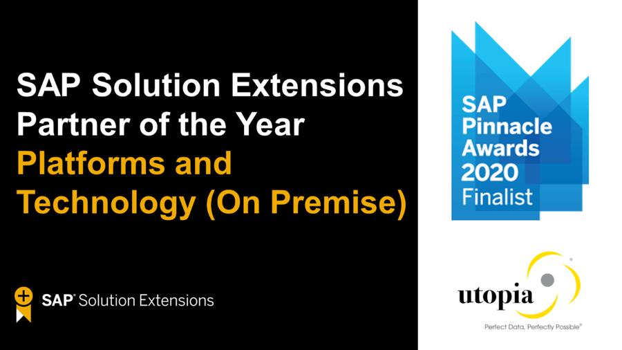SAP Pinacle Awards Logo
