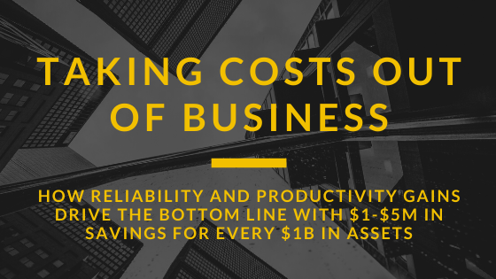 Taking Costs Out of The Business