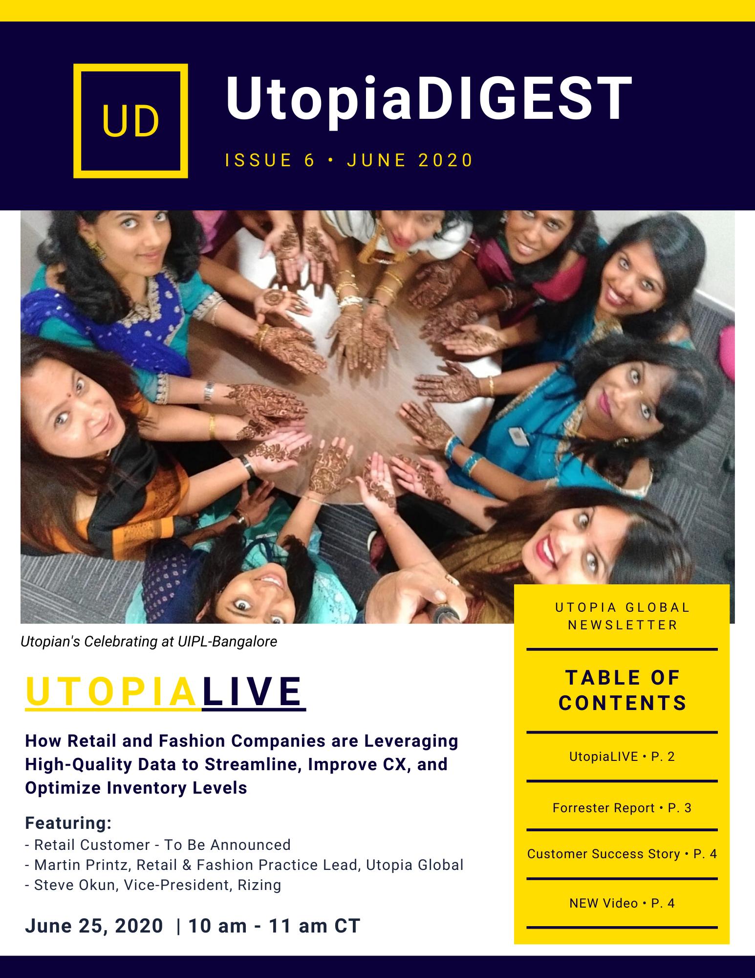 Utopia Newsletter Issue 6