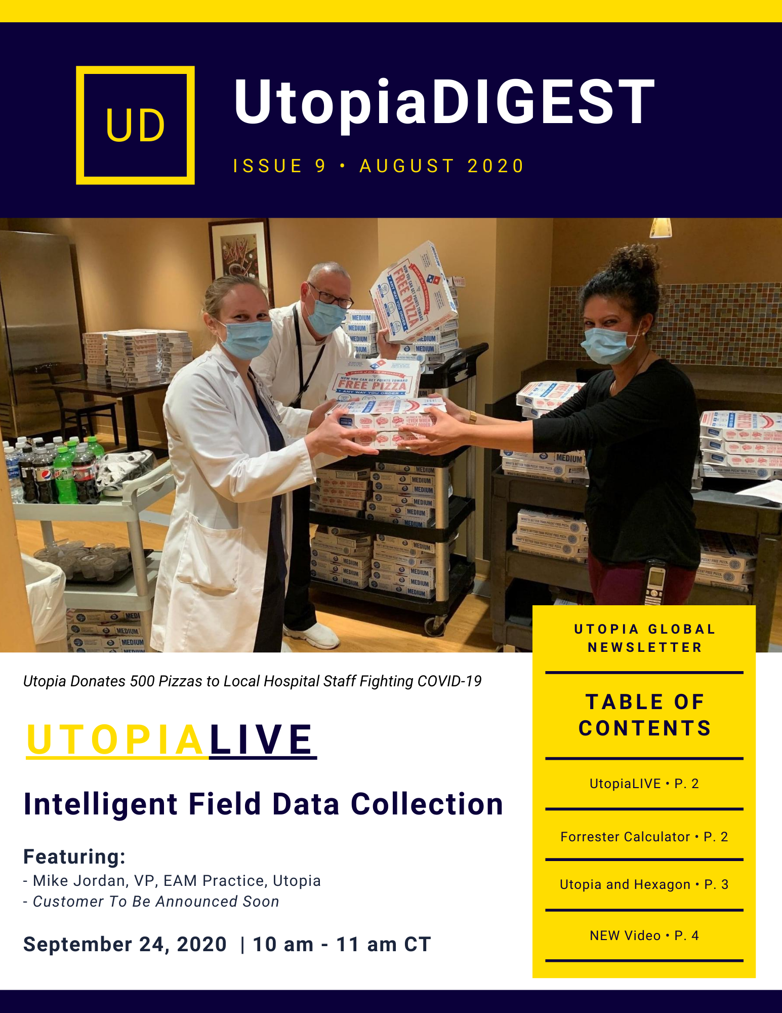 Utopia Newsletter Issue 9